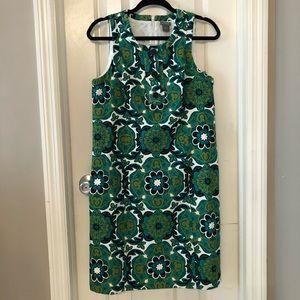 Mod print 60s style shift dress! NWOT. Size 8!